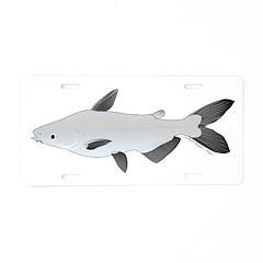 Mekong Giant Catfish Aluminum License Plate