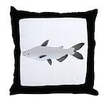 Mekong Giant Catfish Throw Pillow