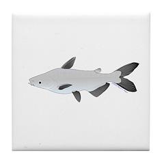 Mekong Giant Catfish Tile Coaster