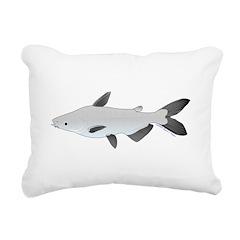 Mekong Giant Catfish Rectangular Canvas Pillow