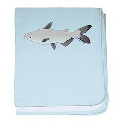Mekong Giant Catfish c baby blanket