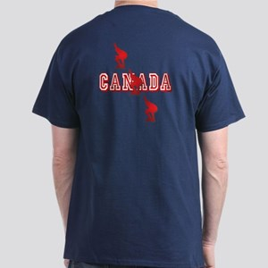 Canada Speedskating Dark T-Shirt