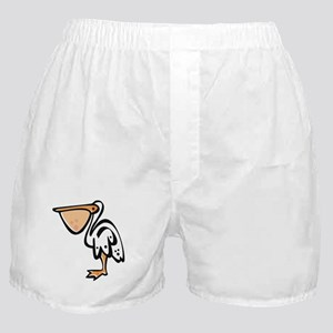 Cute Cartoon Pelican Boxer Shorts