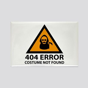 404 Error : Costume Not Found Rectangle Magnet
