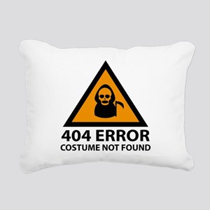404 Error : Costume Not Found Rectangular Canvas P