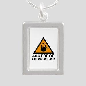 404 Error : Costume Not Found Silver Portrait Neck
