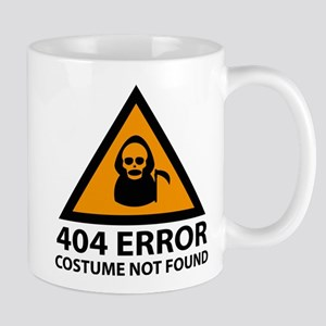 404 Error : Costume Not Found Mug