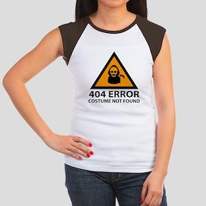 404 Error : Costume Not Found Women's Cap Sleeve T