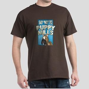 Stop Puppy Mills Dark T-Shirt