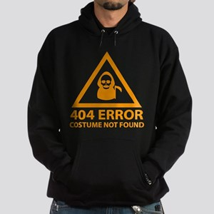 404 Error : Costume Not Found Hoodie (dark)