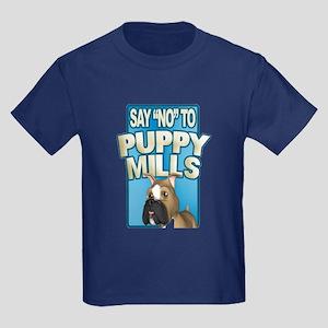 Stop Puppy Mills Kids Dark T-Shirt