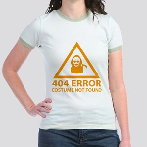 404 Error : Costume Not Found Jr. Ringer T-Shirt