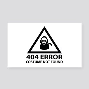 404 Error : Costume Not Found Rectangle Car Magnet