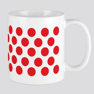 Red Polka dot Mugs