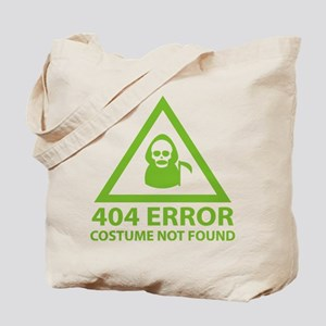 404 Error : Costume Not Found Tote Bag