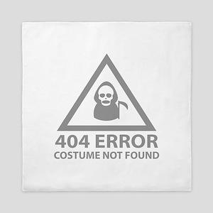 404 Error : Costume Not Found Queen Duvet