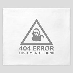 404 Error : Costume Not Found King Duvet
