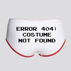 404 Error : Costume Not Found Women's Boy Brief