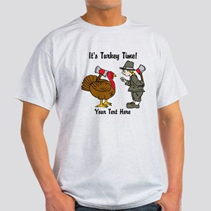 Funny Thanksgiving Light T-Shirt