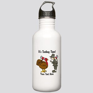 Funny Thanksgiving Stainless Water Bottle 1.0L