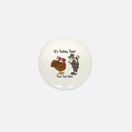Funny Thanksgiving Mini Button