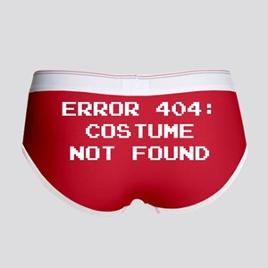 404 Error : Costume Not Found Women's Boy Brief