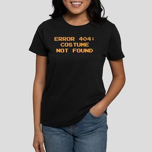 404 Error : Costume Not Found Women's Dark T-Shirt