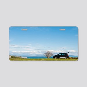Countryside holiday Aluminum License Plate