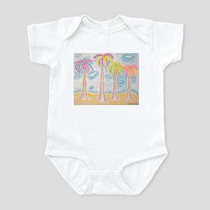 Colorful Palms Infant Bodysuit