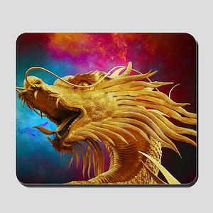 Golden Dragon Mousepad