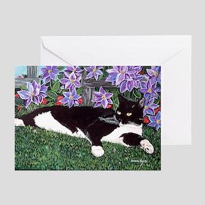 Kokey Cat Greeting Cards 10 Pk, blank inside