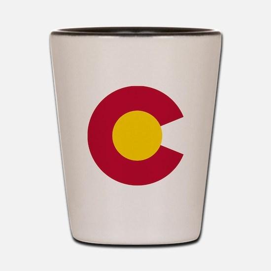 Colorado State Flag C Shot Glass
