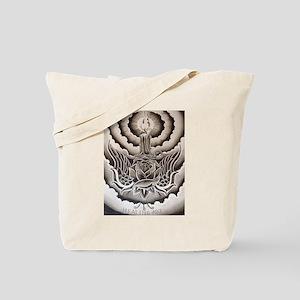 Healing Art Candle Tote Bag