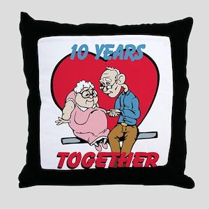 Custom Funny Anniversary Throw Pillow