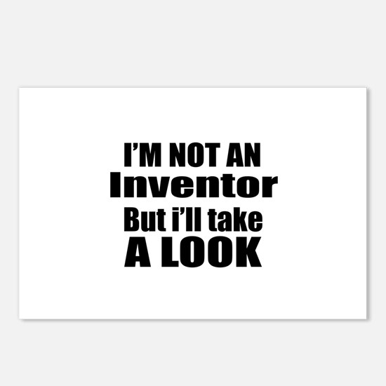 I Am Not Inventor But I W Postcards (Package of 8)