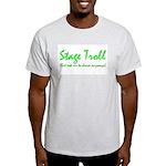 Stage Troll Ash Grey T-Shirt