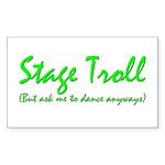 Stage Troll Sticker (Rect.)