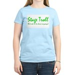 Stage Troll Women's Pink T-Shirt