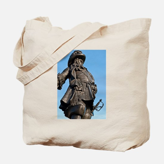 Statue of King William III Tote Bag