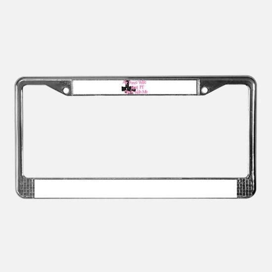 Cute Air force brat License Plate Frame