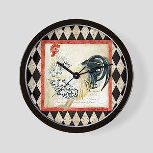 Spangled Allen Setter Rooster Black n White Wall C