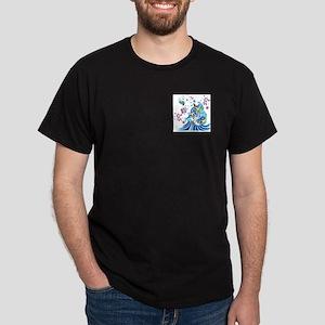 Awareness at Sea Dark T-Shirt