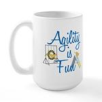 Agility is Fun Large Mug