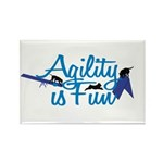 Agility is Fun Rectangle Magnet (100 pack)