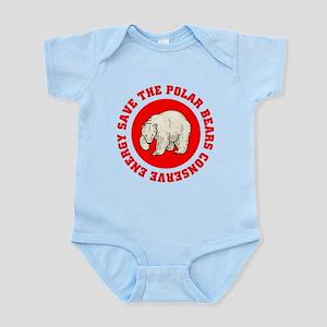 save the Polar Bears! Infant Bodysuit