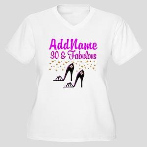 30TH HIGH HEEL Women's Plus Size V-Neck T-Shirt