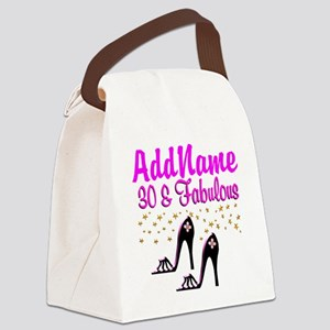 30TH HIGH HEEL Canvas Lunch Bag