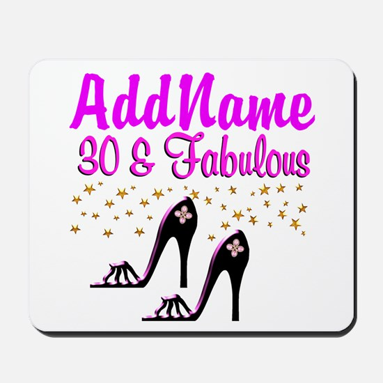 30TH HIGH HEEL Mousepad