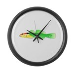 Greenbanded Goby Large Wall Clock