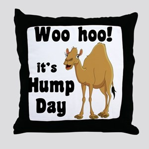 Hump Day Throw Pillow